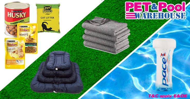 Spoil your pets with great #savings at Pet & Pool Warehouse - to view all specials click here: http://apost.link/38d. Specials are valid from 21 May 2015 to 30 May 2015. While Stocks Last *E&OE T&C apply #PetPool #Specials