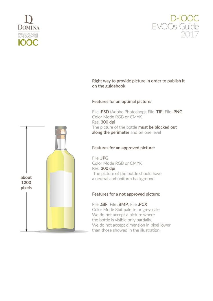 We remind you that next April 15 will expire the terms for registration in D-IOOC Evoos Guide, reserved only for members of the Domina International Olive Oil Contest, which will be delivered to Buyers already from May 8 to TUTTOFOOD, the international exhibition is dedicated to the operators of the food sector. Don't miss this opportunity! Attached file with all details to send us pictures.
