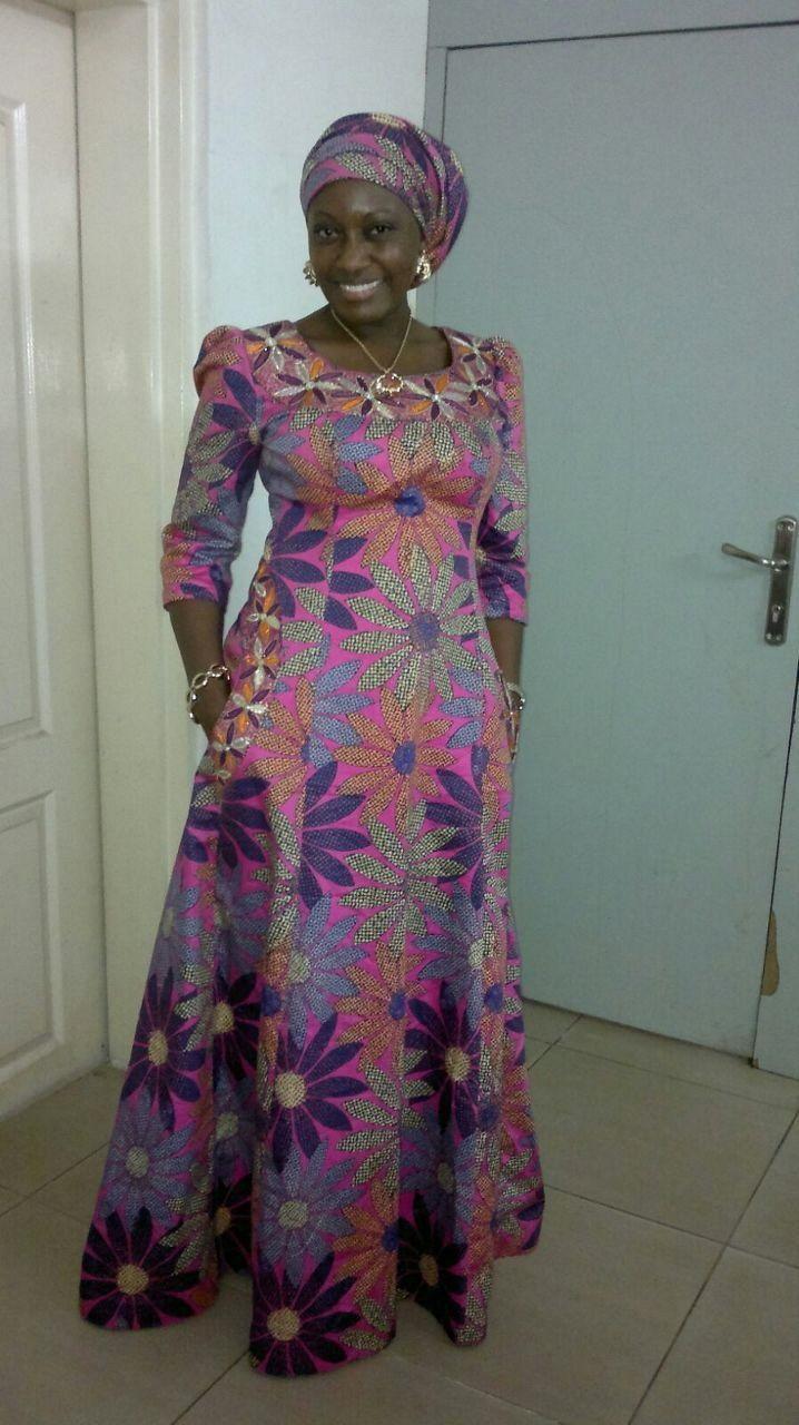 Ankara dress