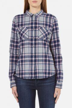Superdry Women's New Lumberjack Twill Shirt - Stockholm Grey Check - S https://modasto.com/superdry/kadin-ust-giyim-gomlek-bluz/br18884ct4