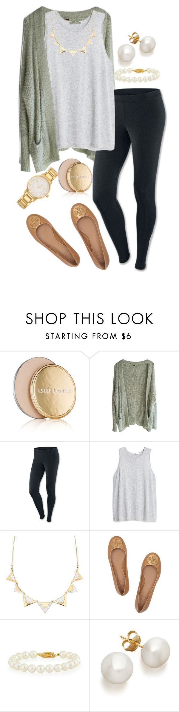 """When in times of need, I look towards Christ for hope✝"" by madelyn-abigail ❤ liked on Polyvore featuring Estée Lauder, Free People, NIKE, MANGO, Charlotte Russe, Tory Burch, Belpearl and Kate Spade"