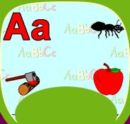 Teach Me ABCs Online Game. Website is called funschool.com and has great games and puzzles. Full of education.