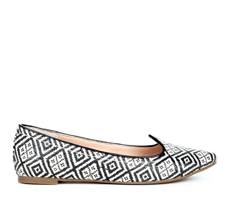 Pretty patterned flats
