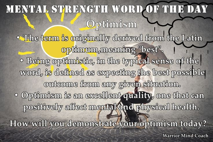 Optimism, The words and Words on Pinterest