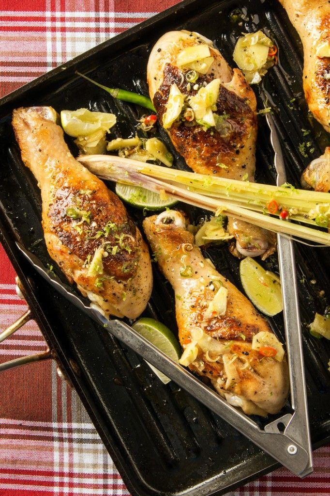 pilon de poulet grill la lime et citronnelle mycryo recettes poulet pinterest cuisine. Black Bedroom Furniture Sets. Home Design Ideas