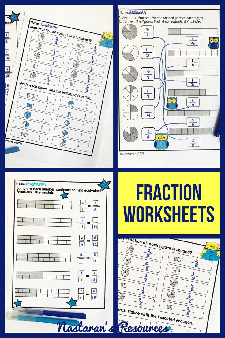 Fractions Activities For 3rd grade! 21 printable worksheets • fractions • Fractions in a set • Equal parts • Fractions on the number-line • Equivalent fractions • Comparing #fractions.#equivalentfractions