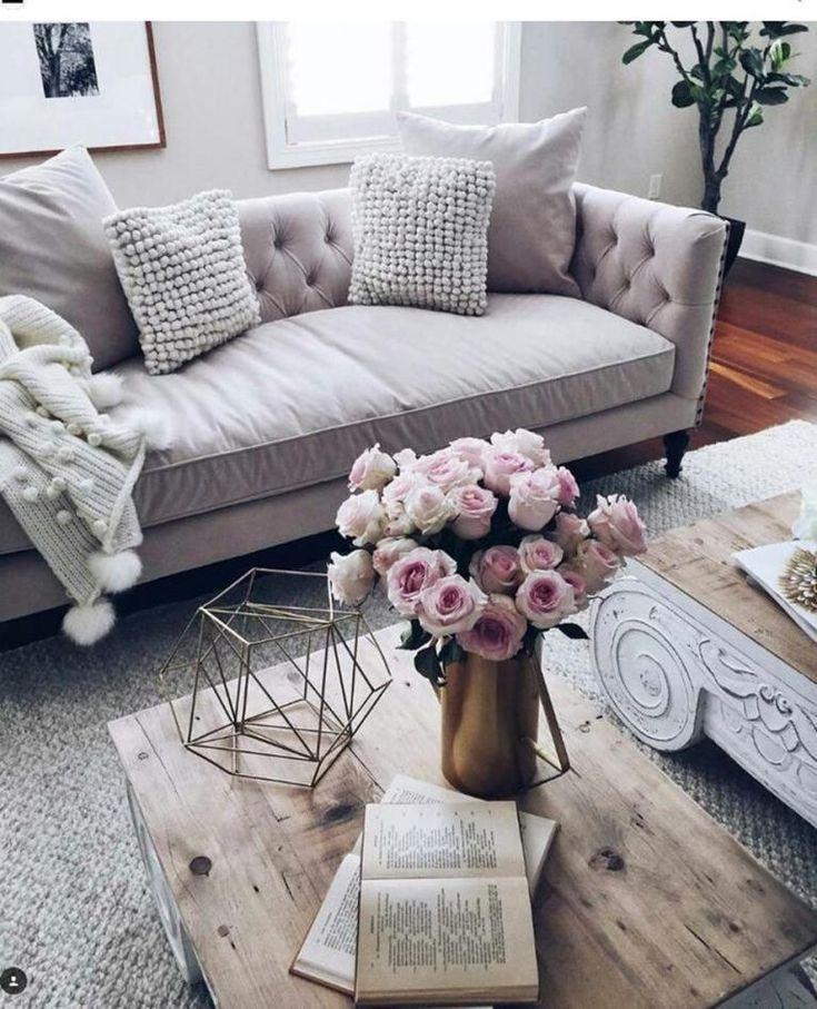 36 Komfortable Wohnzimmer Im Landhausstil Mit Grauem Sofa