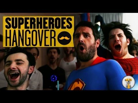 The Superheroes Hangover. It's in French, so if you don't understand it, turn on the captions!