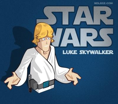 Star Wars by Nolegz.com - Luke #Skywalker