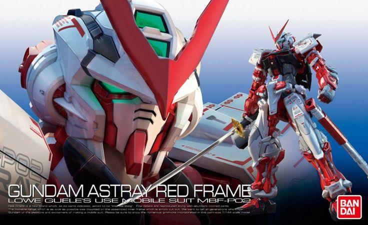 Astray Red Frame Gundam RG 1/144 - Gundam Toys Shop, Gunpla Model Kits Hobby Online Store, Diorama Supply, Tamiya Paint, Bandai Action Figures Supplier