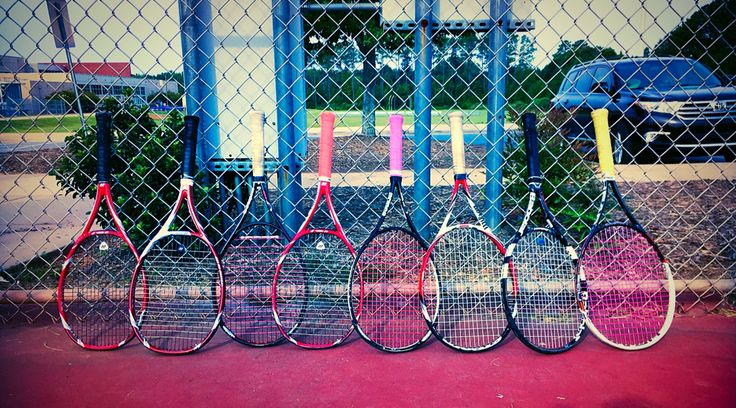 Photograph taken by me at a school tennis team practice : Tennis : Pinterest : Tennis