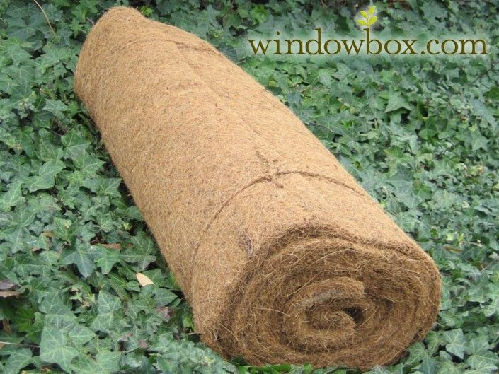 Coconut Coir Liner Sold By The Roll Garden
