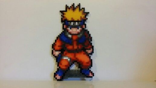Naruto Uzumaki Bead Art