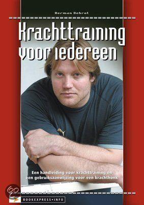 Krachttraining voor iedereen - Herman Debrot - ISBN 9789077850015. Ja voor iedereen! Niet alleen voor de voetballer die een vernietigend schot in beide benen wil krijgen, maar ook voor de vrouw van nu die strak door het leven wil. GRATIS VERZENDING IN BELGIË - BESTELLEN BIJ TOPBOOKS VIA BOL COM OF VERDER LEZEN? DUBBELKLIK OP BOVENSTAANDE FOTO!
