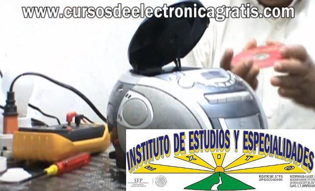 CURSOS DE ELECTRÓNICA GRATIS: REPARACIÓN DE RADIOGRABADORA PARTE 9