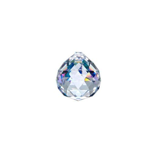 Asfour Crystal 701 Clear Crystal Ball Prism 20 mm 1 Hole  Box of 260 Pieces *** Learn more by visiting the image link.