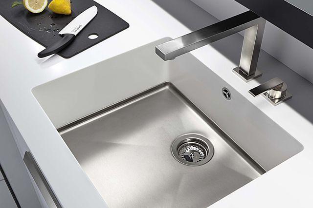 Decamacs spoelbak solid surface - Product in beeld -