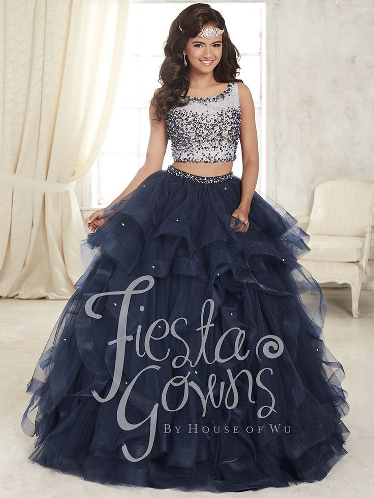Lovely quinceanera dress by house of wu, fiesta collection #quinceaneradresses…