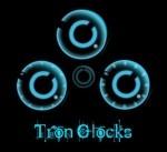 Tron Clock (3 versions)