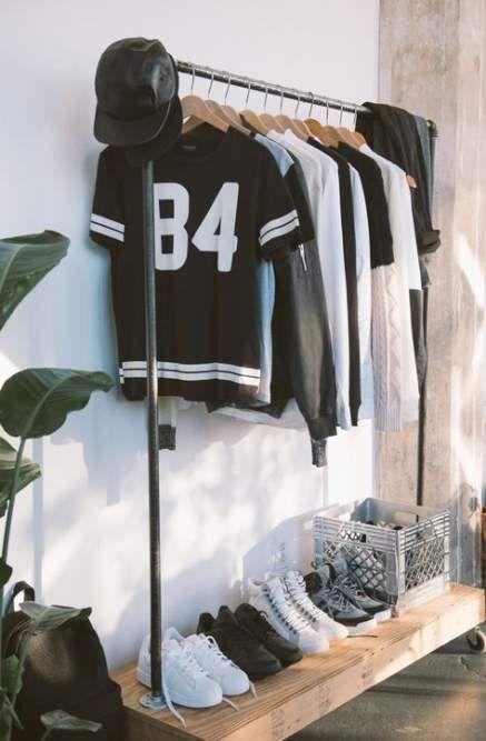 Clothes Rack Fashion Closet 58 Ideas Clothing Rack Bedroom Organization Diy Room Organization Diy Bedroom