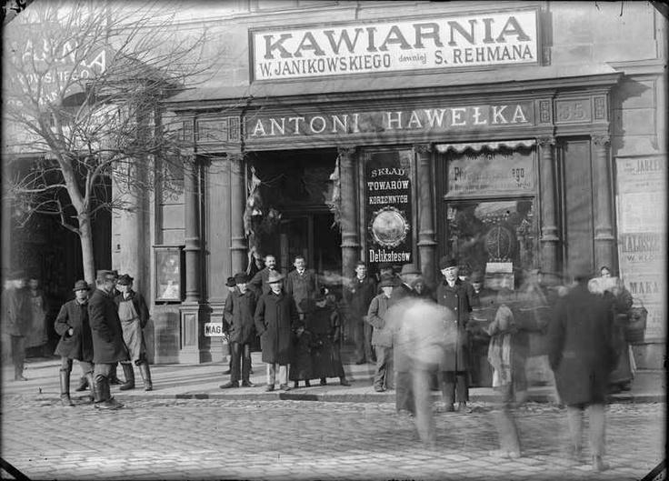hawelka kawiarnia przedwojenny Kraków