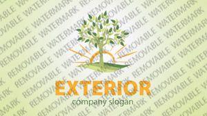 Exterior Landscape Logo Templates by Logann