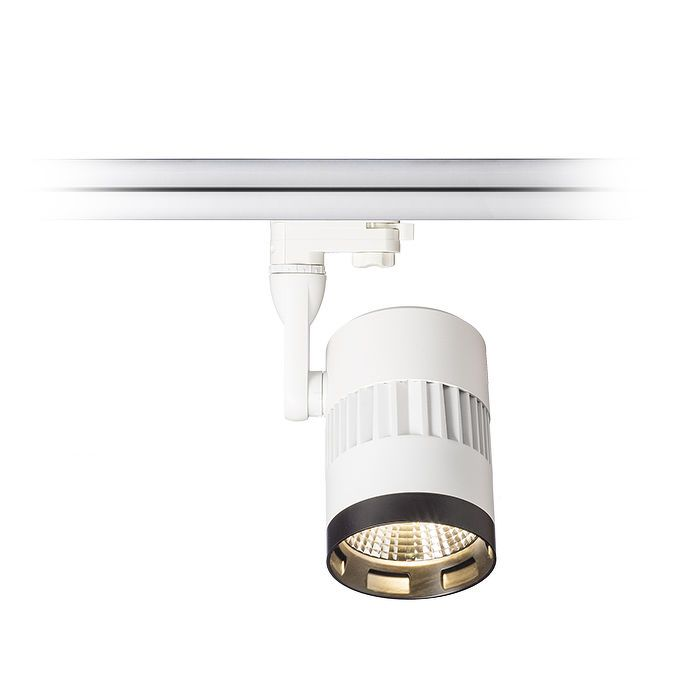 PRIVILEGE | rendl light studio | Spotlight for a 3-phase track. The fixture is available in two versions. You can choose between 24° or 36° reflectors. #lighting #systems #interior #spotlight