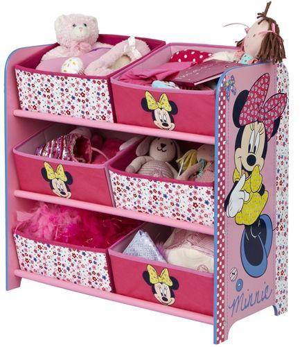 Minnie Mouse, Förvaringshylla med 6 lådor Byrå Förvaring och bokhyllor Inredning på nätet hos Lekmer.se