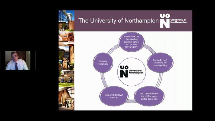 University of Northampton MBA Webinar - Middle East