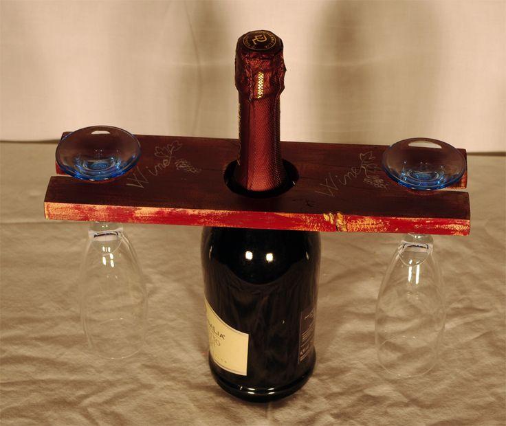 Oltre 25 fantastiche idee su bottiglia su pinterest - Porta bicchieri birra ...