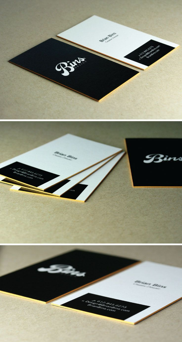 7 best Edge color business cards images on Pinterest | Business ...