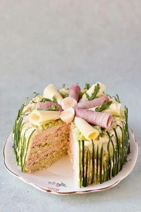 Make this Smörgåstårta Cake With Ham recipe this spring.