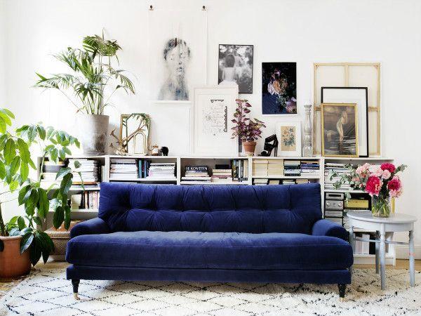 Inredningstrend – Bli förförd av sexig blå sammet   Inredningsvis