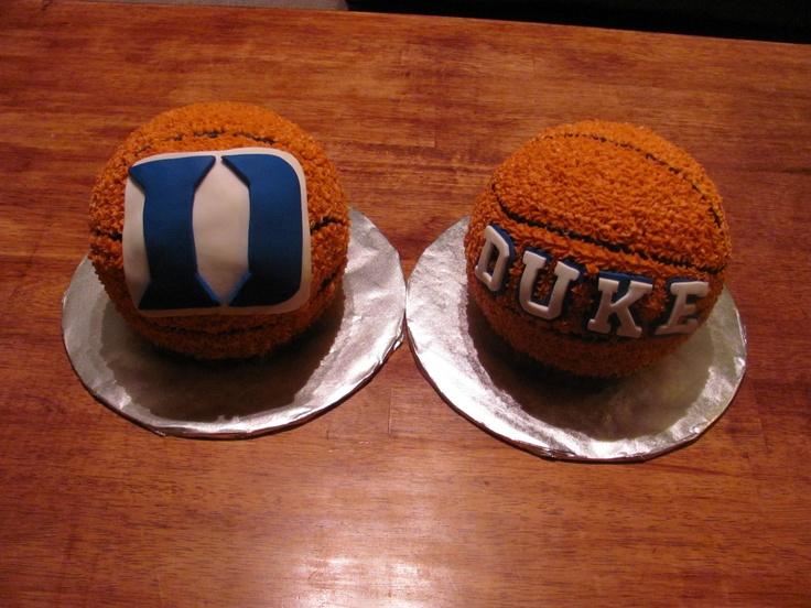 D Basketball Birthday Cake