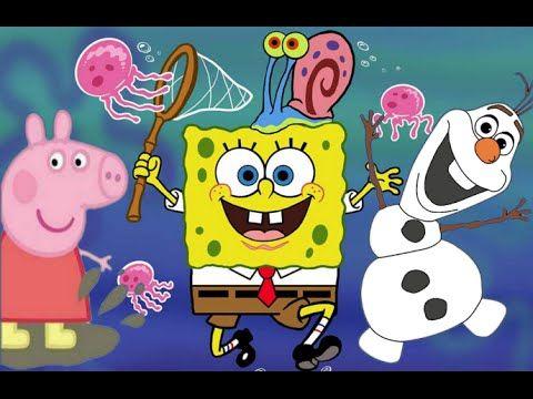 Peppa Pig Portugues Very Drawing's 2015 Disney Frozen Complete Bob Esponja