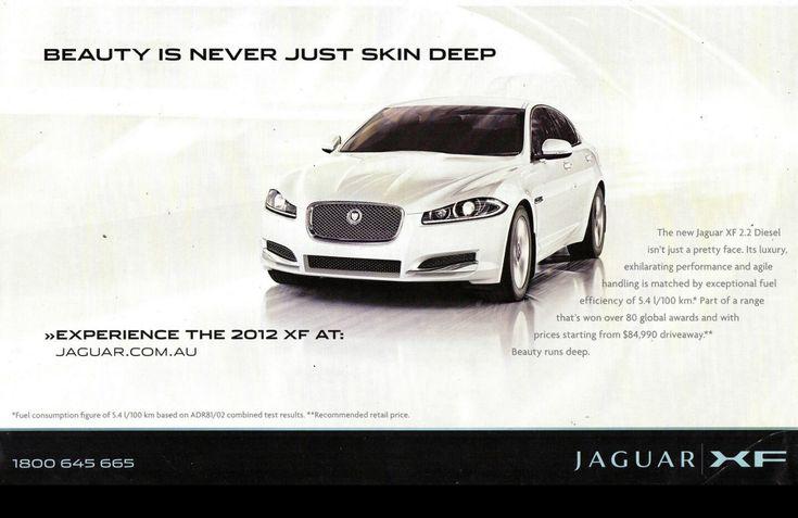 2012 Jaguar XF AT 2.2 Diesel - Australia