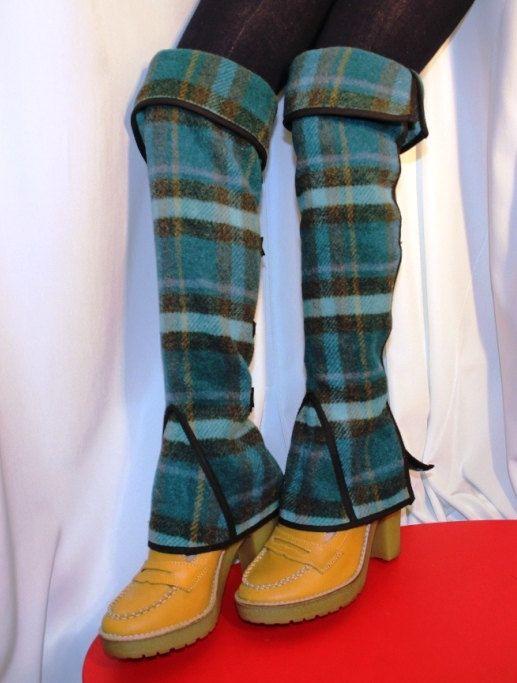 Halloween Victorian Spats Comfortable Leg Warmers by kioskofoli, $39.00