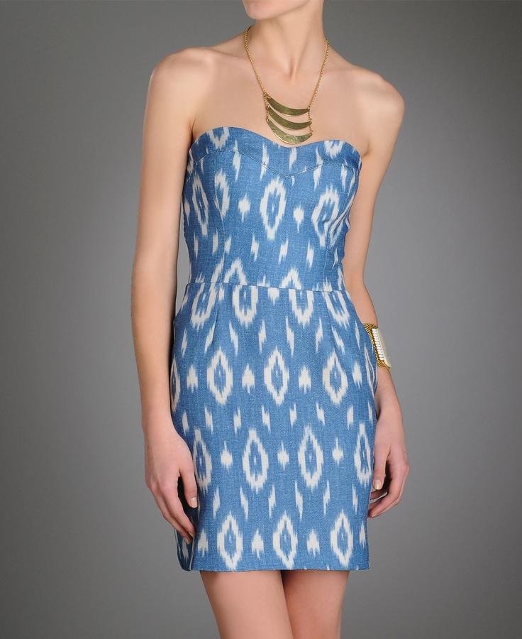 ikat dress @southmoonunder