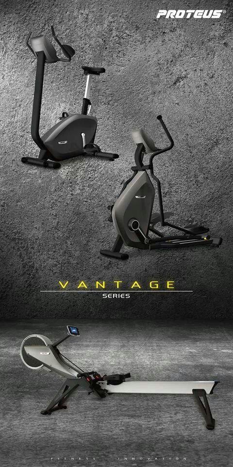 Bicicleta Ergométrica e Elíptico Vantage
