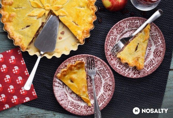 Angolos, fűszeres húsos pite