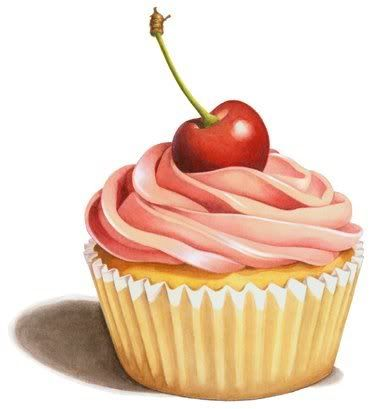 Cupcake Drawing with no words