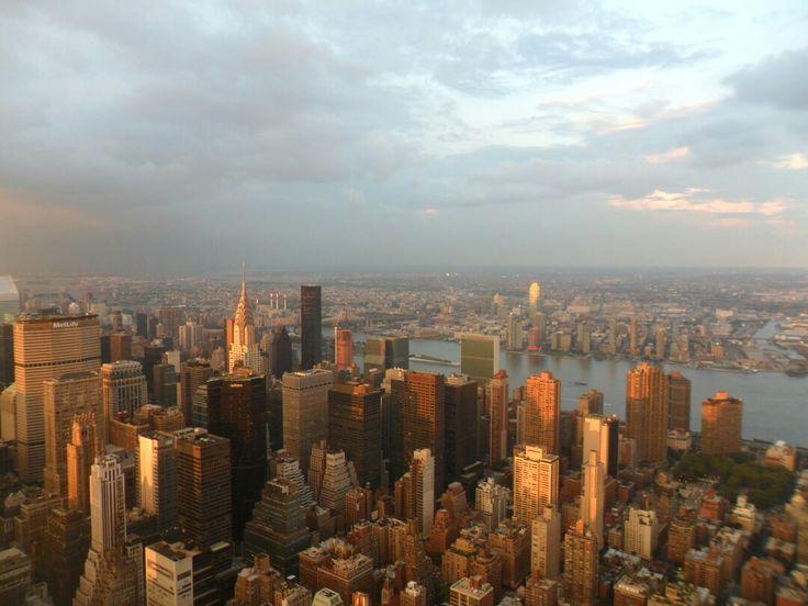 Amazing skyline of NY