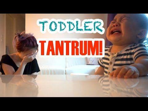 BABY TANTRUM! - YouTube