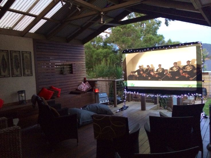 Backyard Movie Nights Rental Contact us for booking see our Facebook page Backyard Movie Nights
