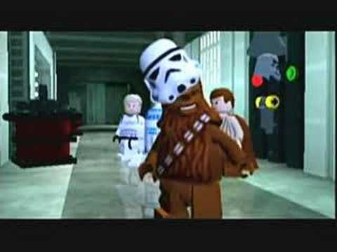 Lego Star Wars - I don't play a lot of games these days but I find the Lego series to be very fun and funny, because they don't try to take themselves seriously. Star Wars is the best one I've played or seen.