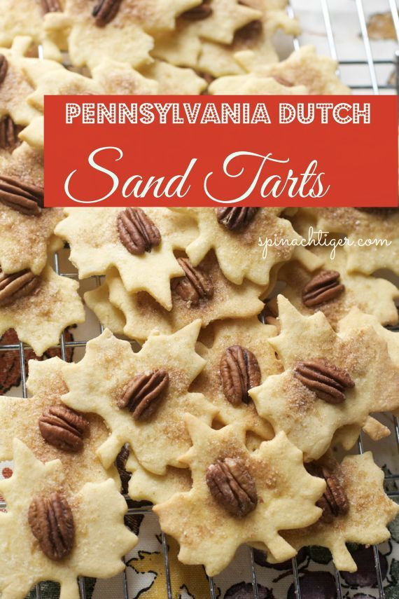 Pennsylvania Dutch Sand Tarts, an Amish Christmas Cookie with Video