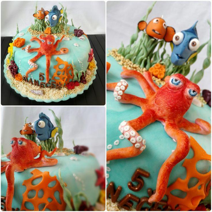 Hledá se Dory / Finding Dory fondant cake
