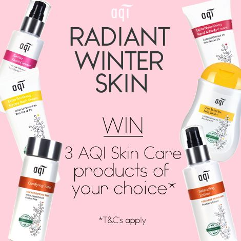 We want you to have radiant skin this Winter so we are giving you the chance to win 3 AQI products of your choice.  Simply follow the below steps: 1) Like this post 2) Head to our website (www.aqicare.com) and choose the 3 products you would like to win 3) Leave a comment on this post with your chosen 3 products  Comp closes 17/6/17 11.59pm AEST.  Click for full T&C'sgoo.gl/bthwZG  Don't forget to hit the 'Share' button  Good luck!