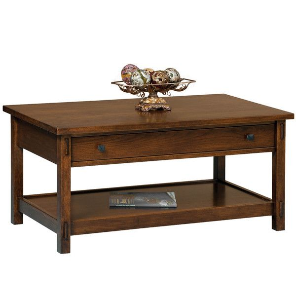 Centennial Coffee Table   Amish Tables Choose Your Style, Wood U0026 Finish