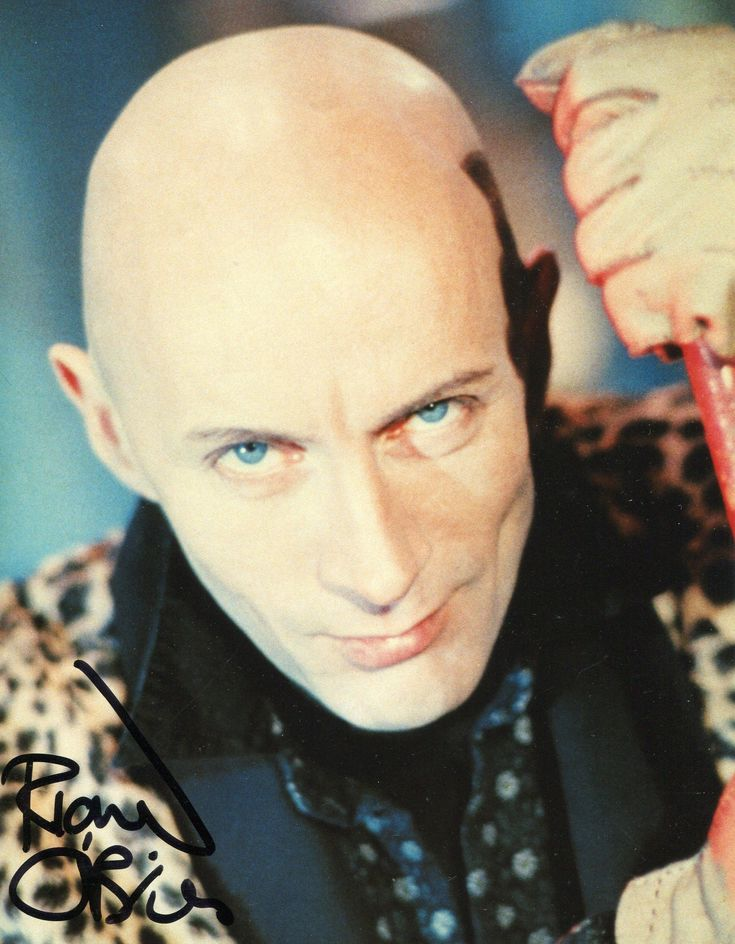 Richard O'Brien, writer of the Rocky Horror Show and Shock Treatment